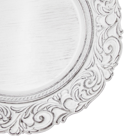 Charger Plate - Aristocrat - White 3.png