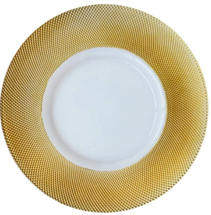 Diamond Rim Charger Plate - Gold.png