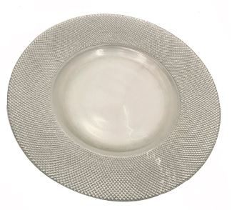 Mosaic Charger Plate - Silver.jpg