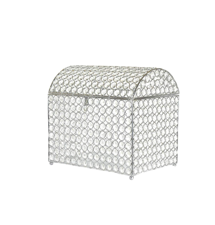 Crystal Treasure Chest Card Box - Silver -d - Fit.png